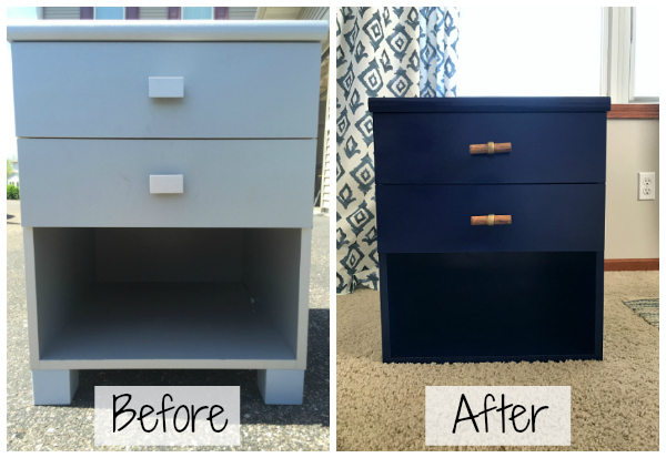 Diy For Less Furniture Makeover With Spray Paint Lemons Lavender