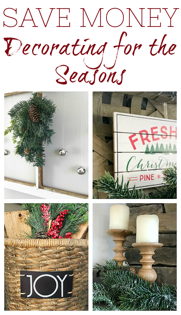 Ten decor staples that will save you a whole lot of money as you decorate for the seasons.