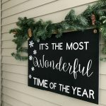 Budget-Friendly Christmas Porch