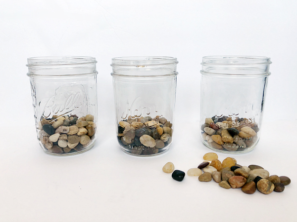 DIY Mason Jar Planter Pebbles 2 - Lemons, Lavender, & Laundry