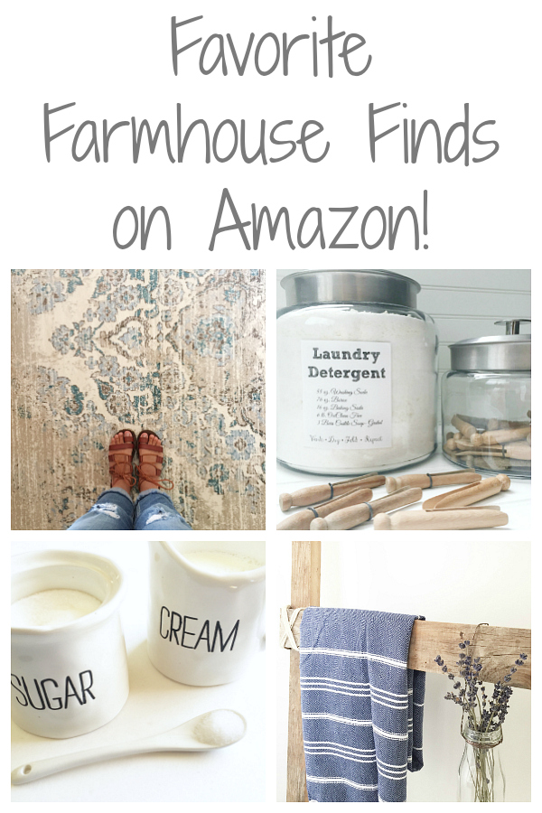 Favorite Farmhouse Finds on Amazon #farmhouse