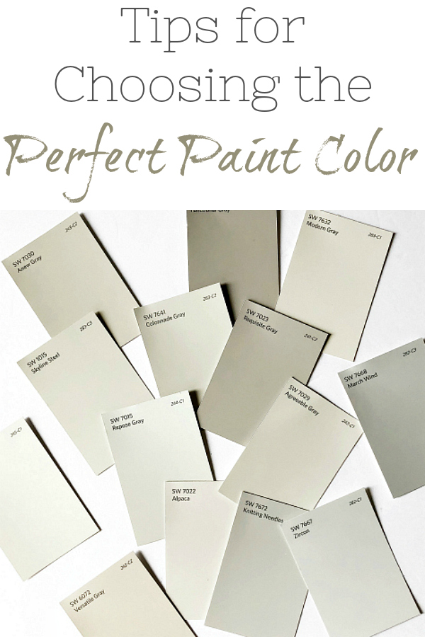 Five tips to help you choose the perfect paint color for your home.