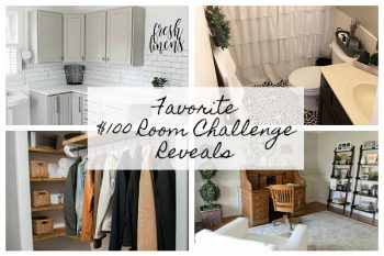 These $100 Room Reveals are absolutely stunning. I cannot even believe so much can be done with such a tight budget!