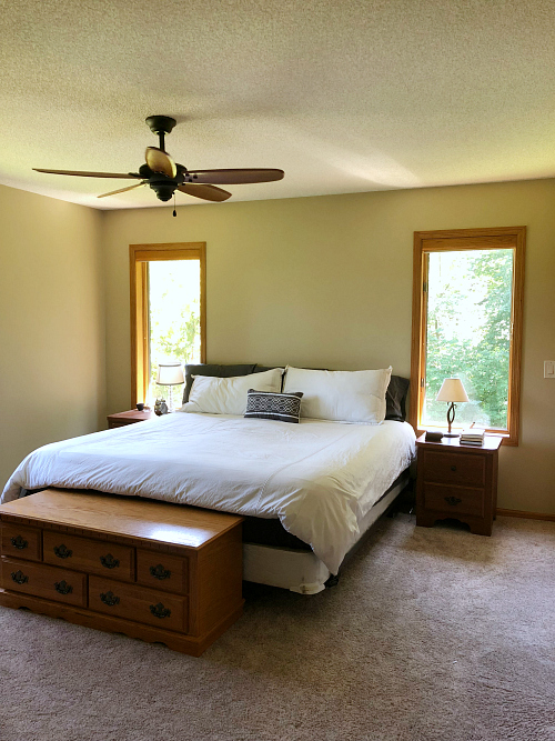 Farmhouse Master Bedroom Inspiration Before