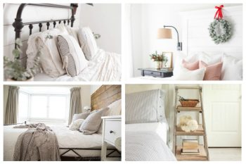 Beautiful Farmhouse Bedroom Inspiration. #bedroom #masterbedroom #farmhousebedroom #farmhousemasterbedroom #farmhousestyle #farmhousedecor
