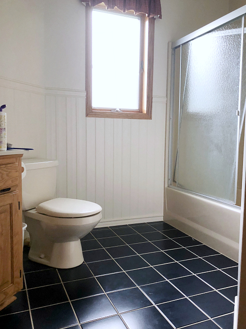 Budget Friendly Kids Bathroom Makeover Goals #100roomchallenge
