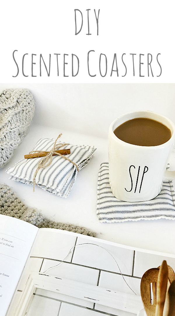 These DIY scented coasters amazing amazing! Such an easy DIY and perfect for gift-giving #essentialoils #giftideas
