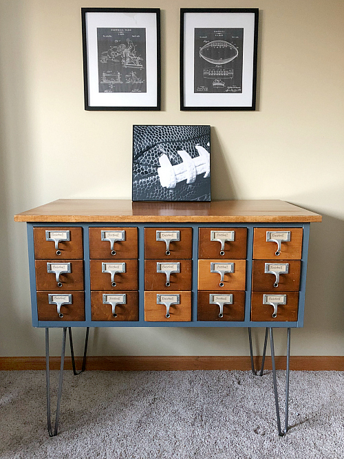 Finished Card Catalog