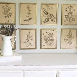 Vintage Botanical Gallery Wall