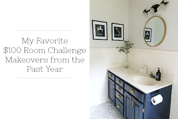 These $100 Room Makeovers are absolutely incredible, and to think that they all worked within such a tight budget is crazy. #100roomchallenge #roommakeovers #roomreveals #onabudget
