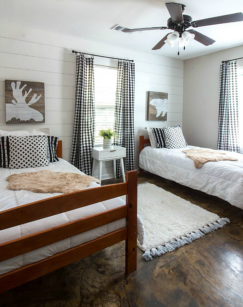 Favorite $100 Room Makeovers from the $100 Room Challenge. This bedroom from Savvy Apron is absolutely incredible!