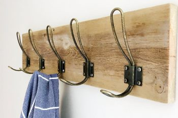 Easy Farmhouse Style DIY Towel Rack