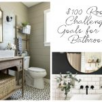 $100 Room Challenge: Outdated Bathroom Makeover