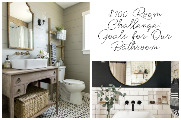 Title Image: $100 Room Challenge Goals and Inspiration