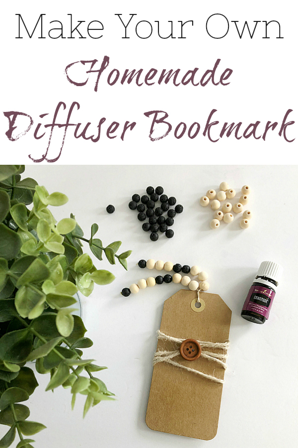 Easy tutorial sharing how to make your own DIY Diffuser Bookmark. Also shares ideas for oil and book combinations.