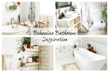 Bohemian Bathroom Inspiration