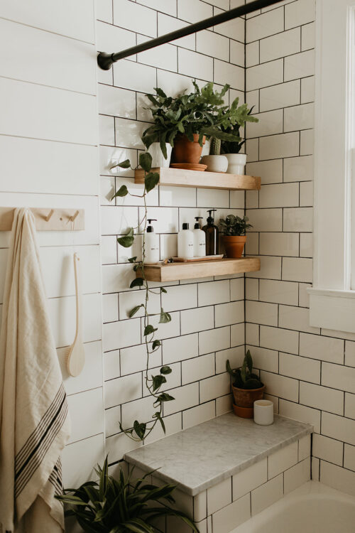Boho Bathroom Inspiration from Carla Natalia