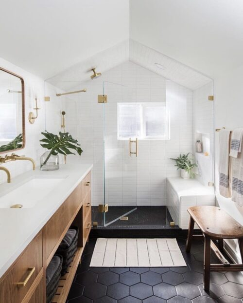 Boho Bathroom Inspiration from Casework.it