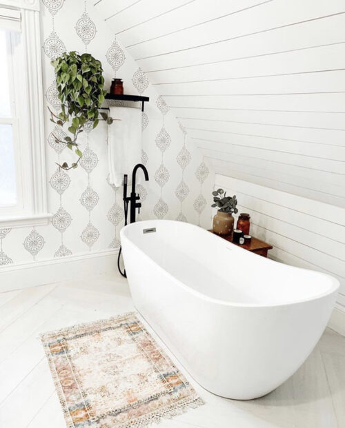 Boho Bathroom Inspiration from reneejeaton