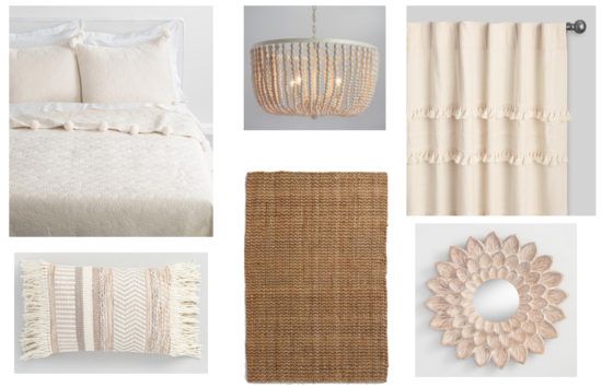 Example of a Mood Board from The Honeycomb Home