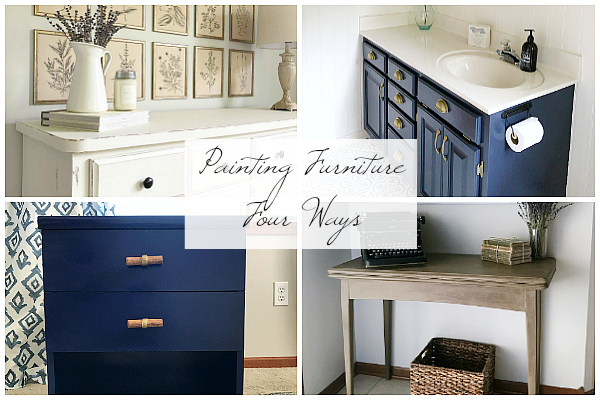 Painting Furniture Four Ways