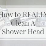 How to REALLY Clean A Shower Head