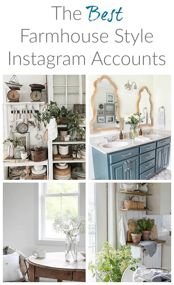 Amazing farmhouse Instragram accounts