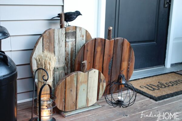 Reclaimed Wood Pumpkins from Finding Home Farms