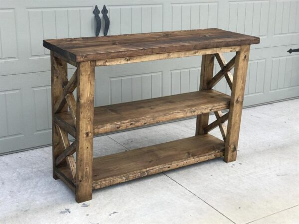DIY Console Table from Handmade Haven