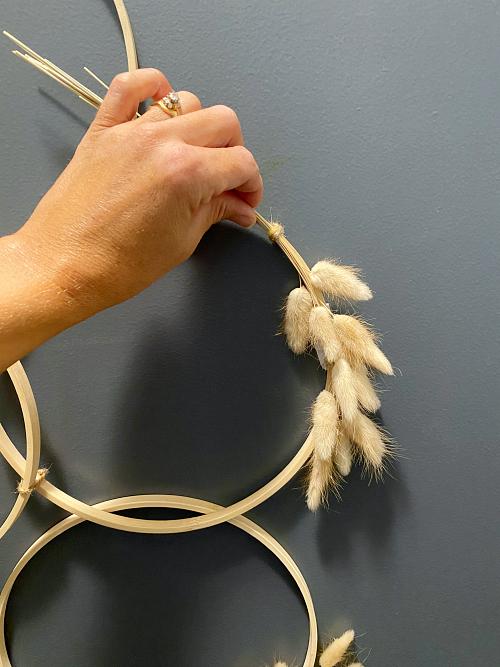 Adjusting Stems on Embroidery Hoop