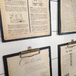 Dollar Store DIY Vintage Clipboards