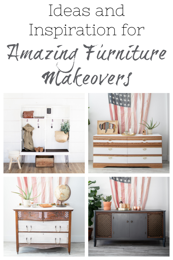 If you are thinking about painting furniture, this is the place to find amazing ideas and inspiration. With everything from dressers, to tables, to buffets... you will definitely find ideas for any piece of furniture you'd like to flip or paint.
