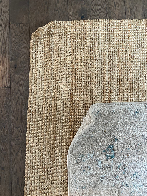 Curling Rug Corners Before Fixing