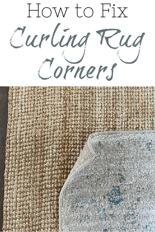How to Easily Fix Curling Rug Corners