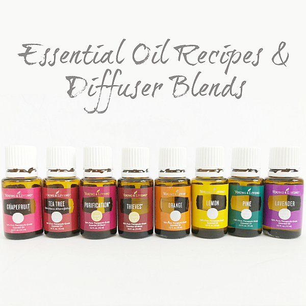 Awesome Essential Oil Recipes and Diffuser Blends.