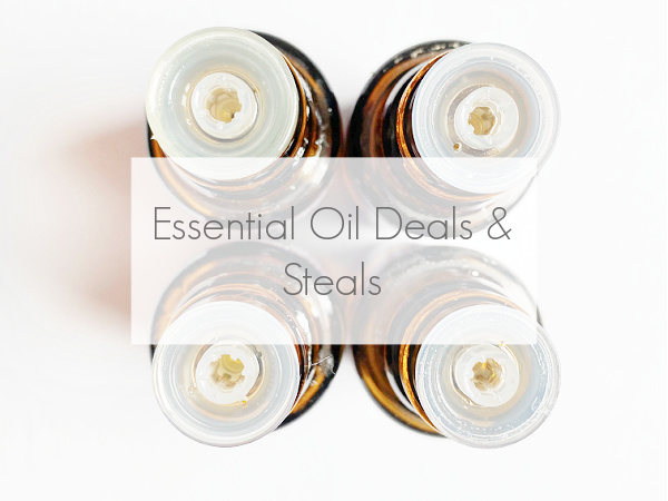 Essential Oil Deals & Steals